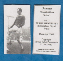 Birmingham City Terry Hennessey Wales 13